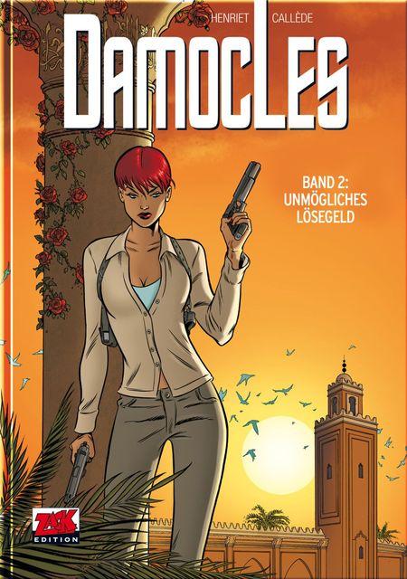 Damocles 2: Unmögliche Forderungen  - Das Cover
