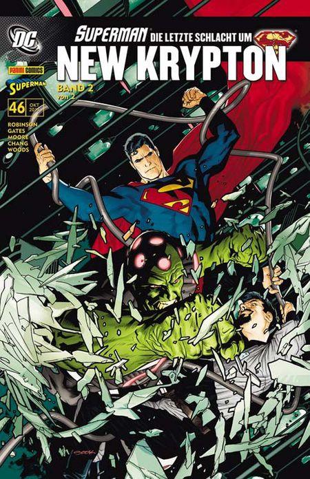 Superman Sonderband 46: Die letzte Schlacht um New Krypton 2 - Das Cover