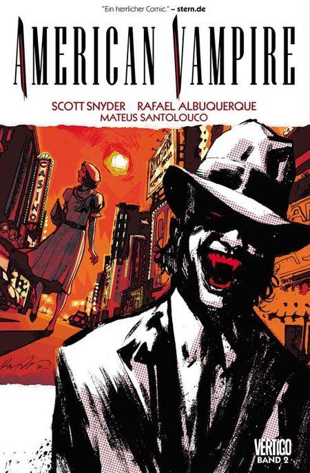 American Vampire 2 - Das Cover
