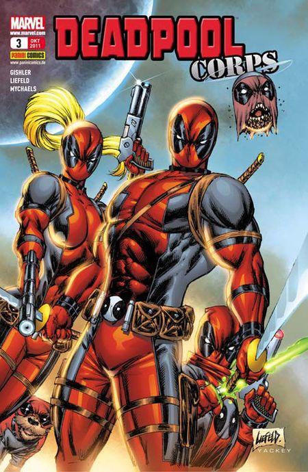 Deadpool Sonderband 3: Deadpool Corps 2 - Das Cover