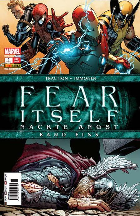 Fear Itself - Nackte Angst 1 - Das Cover