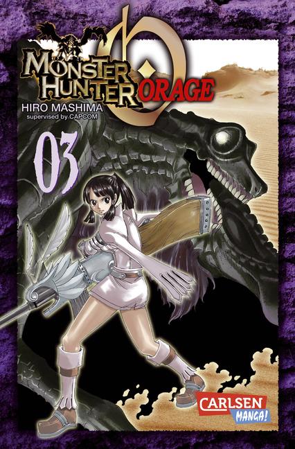 Monster Hunter Orage 3 - Das Cover
