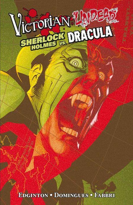 Victorian Undead 2: Sherlock Holmes vs. Dracula - Das Cover