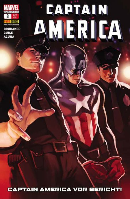 Captain America 8: Der Prozess - Das Cover