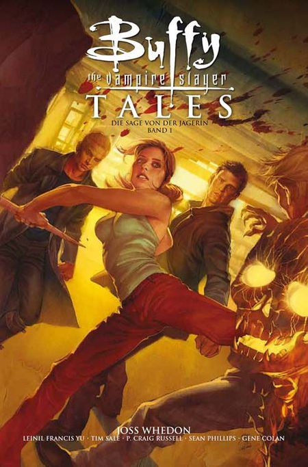 Buffy - The Vampire Slayer Tales: Die Sage von der Jägerin 1 - Das Cover
