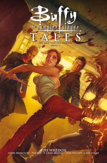 Buffy - The Vampire Slayer Tales: Die Sage von der Jägerin 1 - Das Cover