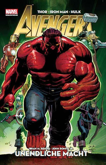 Avengers Special: Unendliche Macht - Das Cover