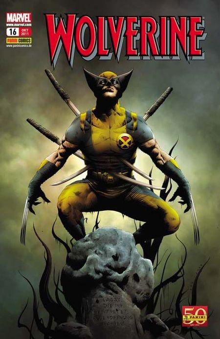 Wolverine 16: In der Hölle - Das Cover