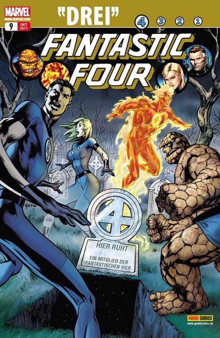 Fantastic Four 9: Drei - Das Cover