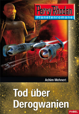 Perry Rhodan Taschenheft 11: Tod über Derogwanien - Das Cover