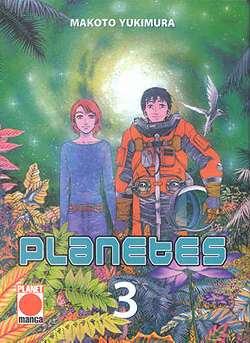 Planetes 3 - Das Cover