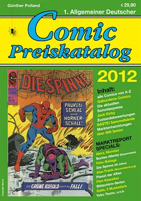 Comic Preiskatalog 2012 [SC] - Das Cover