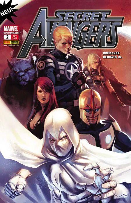 Secret Avengers 2: Die Augen des Drachen - Das Cover