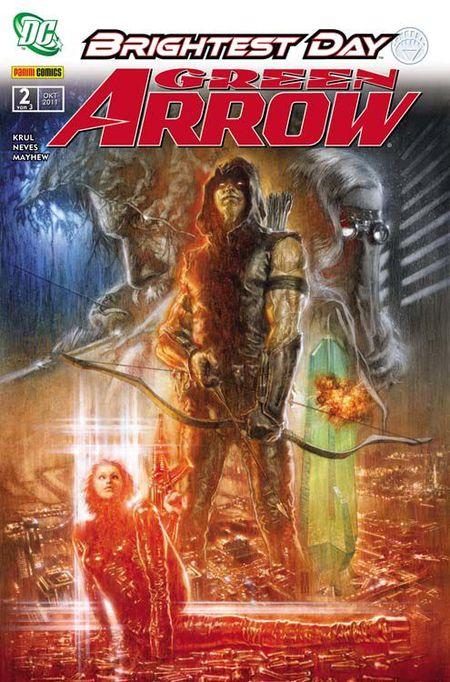 Green Arrow 2: Dämonenbrut - Das Cover