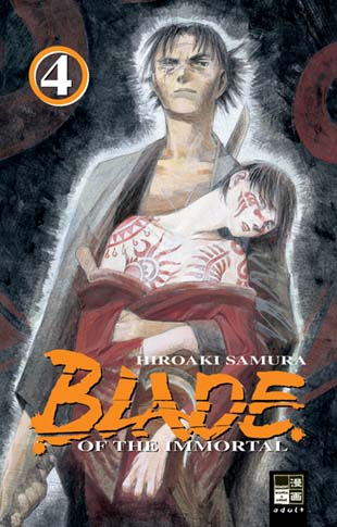 Blade of the Immortal 4 - Das Cover