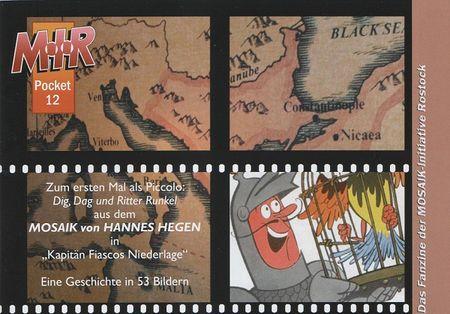 M.I.R Pocket 12 - Das Cover