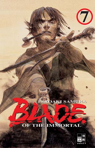 Blade of the Immortal 7 - Das Cover