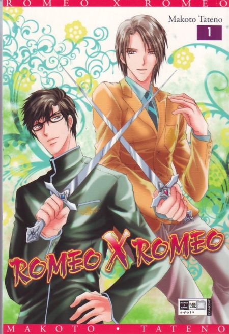 Romeo x Romeo 1 - Das Cover