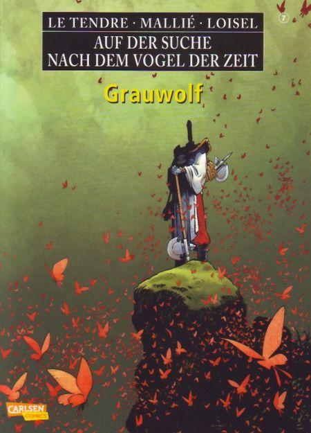 Auf der Suche nach dem Vogel der Zeit 7: Grauwolf - Das Cover