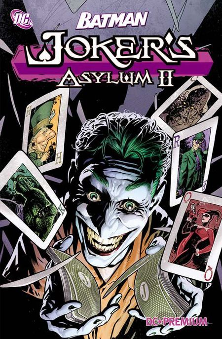 DC Premium 75: Batman - Joker's Asylum II - Das Cover