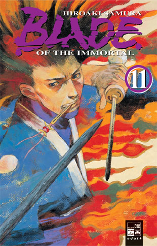 Blade of the Immortal 11 - Das Cover