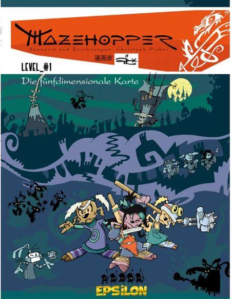 Mazehopper 1: Die fünfdimensionale Karte - Das Cover