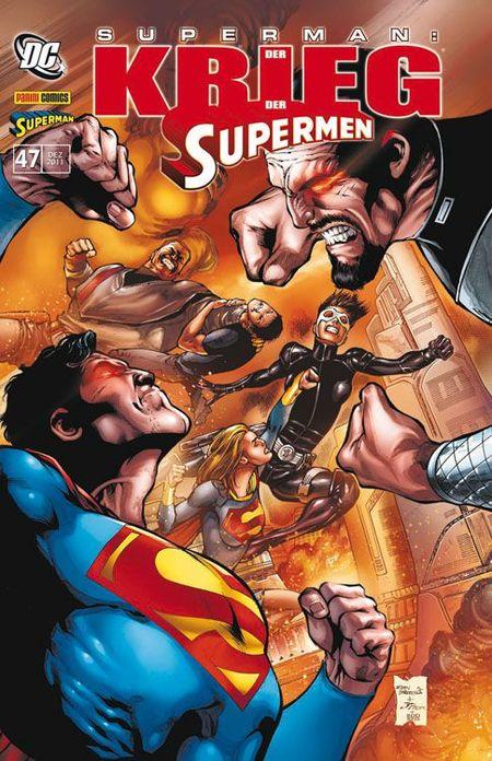 Superman Sonderband 47: Der Krieg der Supermen - Das Cover