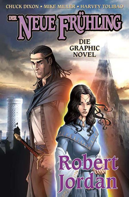 Robert Jordan - Der Neue Frühling - Das Cover