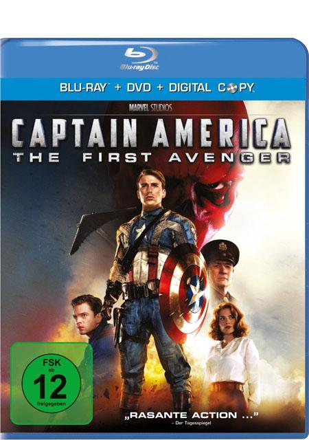 Captain America (Blu-ray + DVD) - Das Cover