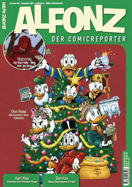 Alfonz - Der Comicreporter Nr. 0a - Das Cover