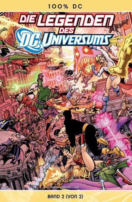100% DC 33: Die Legenden des DC-Universums 2 - Das Cover