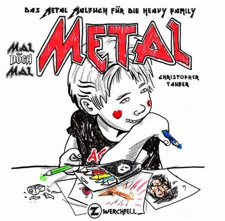 Mal döch mal Metal - Das Cover