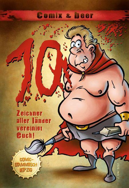 Comix & Beer 2 - Das Cover