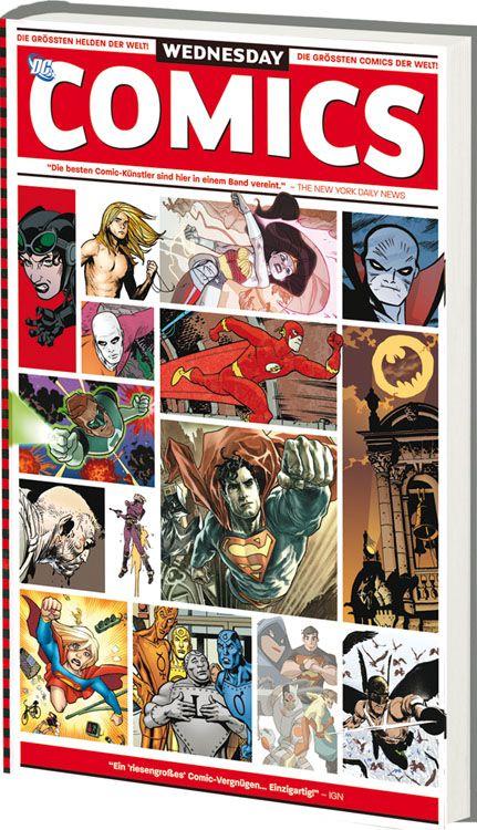 Wednesday Comics - Das Cover