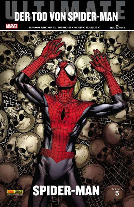 Ultimate Spider-Man 5: Der Tod von Spider-Man - Das Cover