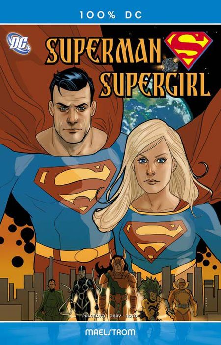 100 % DC 34 Superman-Supergirl: Maelstrom - Das Cover