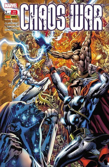 Chaos War 2 - Das Cover