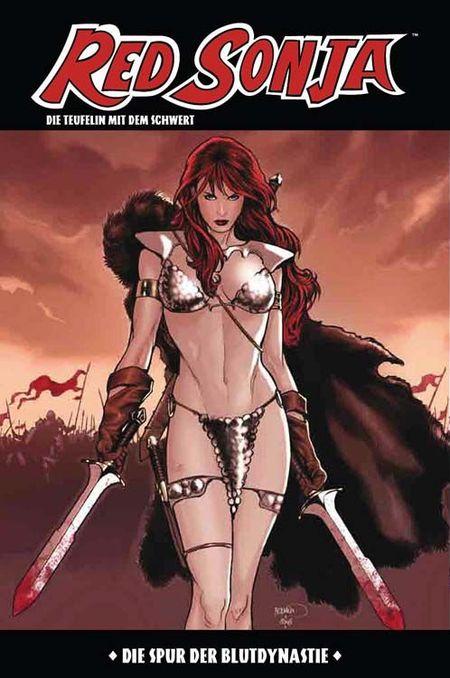 Red Sonja 8 - Das Cover
