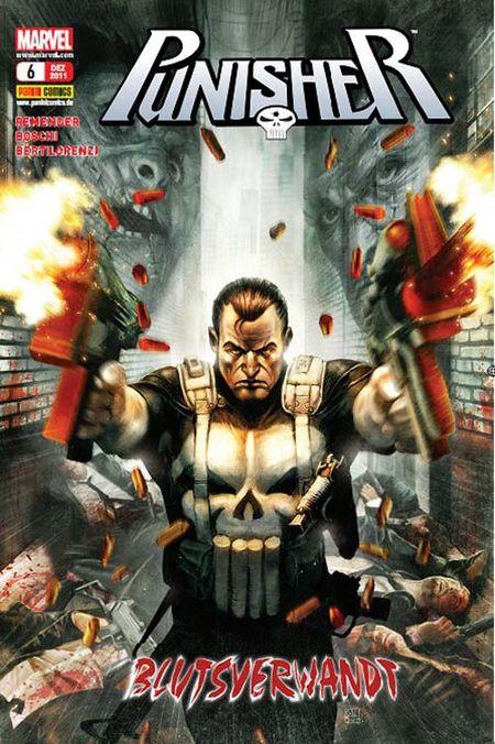 Punisher 6: Blutsverwandt - Das Cover