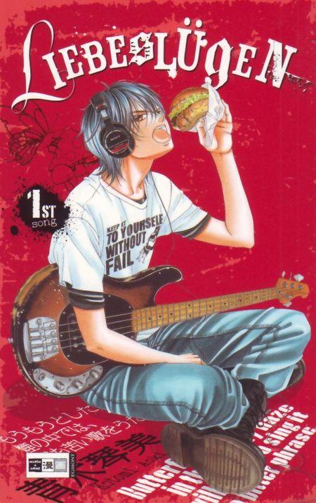 Liebeslügen 1 - Das Cover
