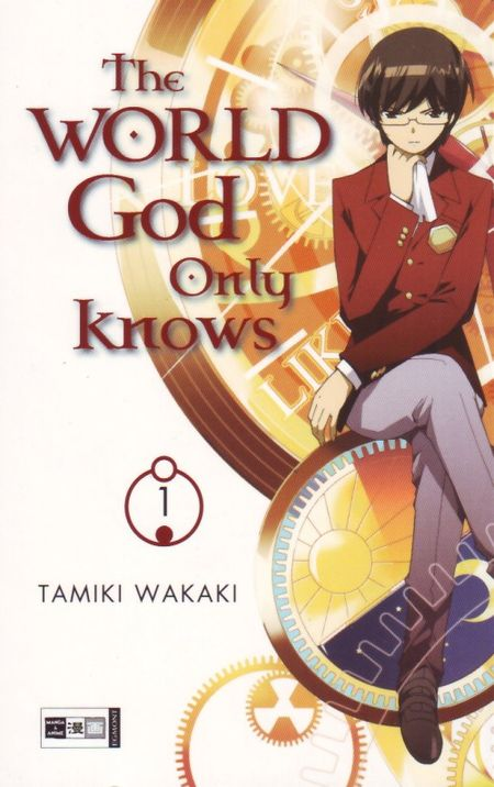 The World God only knows 1 - Das Cover