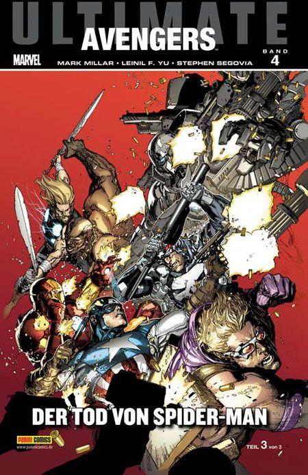 Ultimate Avengers 4: Der Tod von Spider-Man - Das Cover