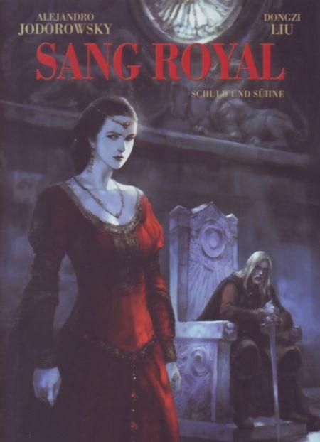 Sang Royal 2: Schuld und Sühne - Das Cover