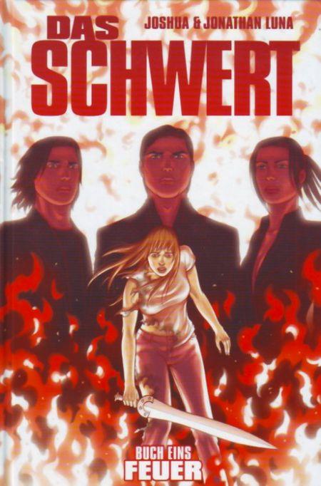 Das Schwert 1: Feuer - Das Cover