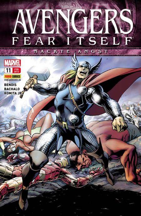 Avengers 11 - Das Cover