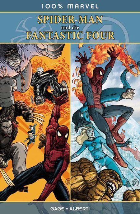 100 % Marvel 59: Spider - Man und die Fantastic Four - Das Cover