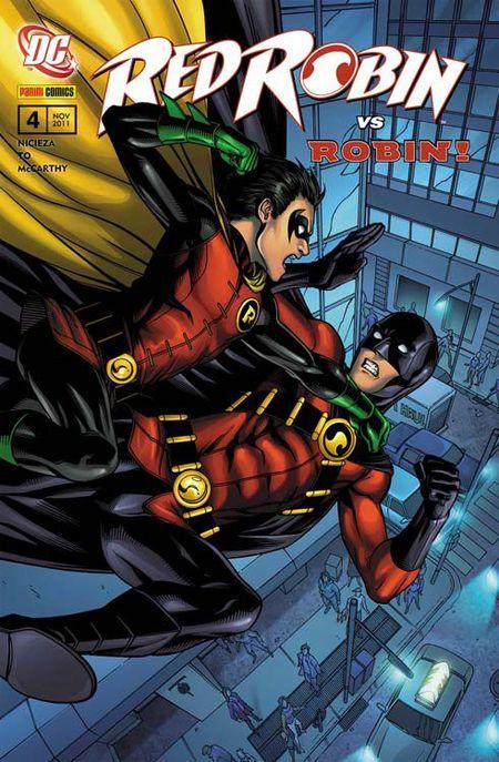 Red Robin 4: Die Abschussliste - Das Cover