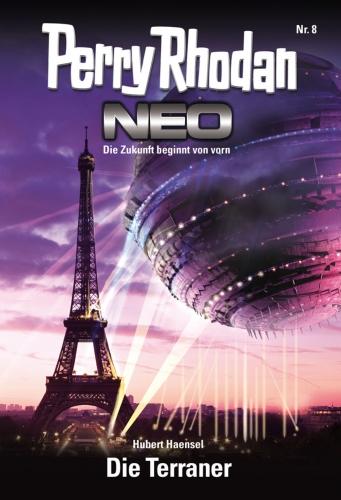 Perry Rhodan Neo 8: Die Terraner - Das Cover