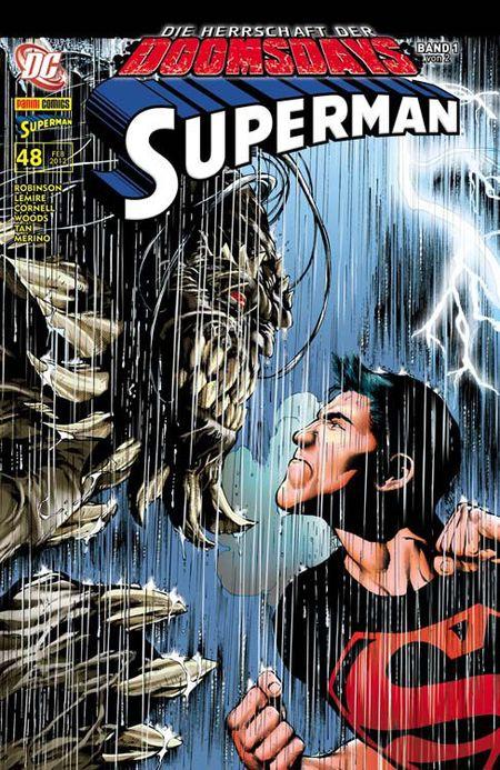 Superman Sonderband 48: Die Herrschaft der Doomsdays 1 (von 2) - Das Cover