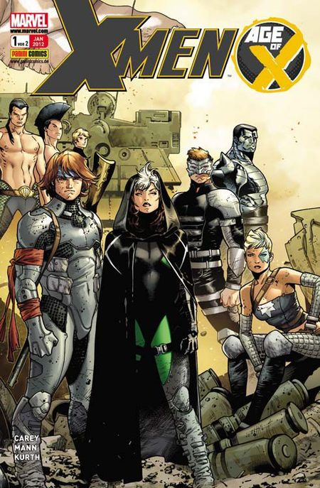 X-Men Sonderband: Age of X 1 - Das Cover